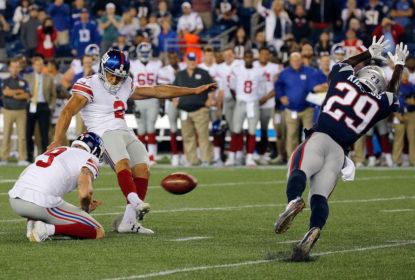 Giants decidem cortar kicker Aldrick Rosas após prisão em junho - The Playoffs