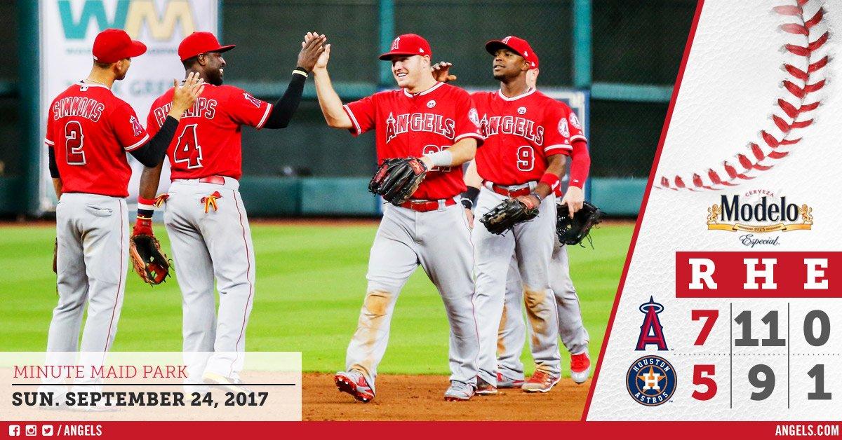 Luis Valbuena ajuda Los Angeles Angels a vencer Houston Astros