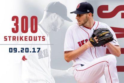 Sale alcança marca histórica e lidera vitória dos Red Sox contra Orioles - The Playoffs