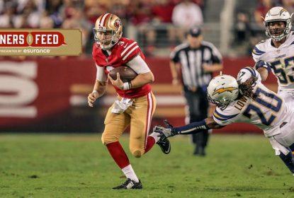 C.J. Beathard continuará como quarterback titular dos 49ers no domingo - The Playoffs