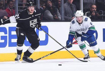 Em primeiro jogo da pré-temporada, Canucks derrotam Kings - The Playoffs