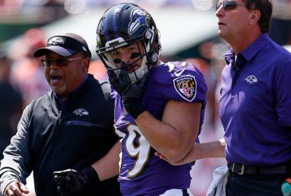Danny Woodhead sofre lesão nos Ravens