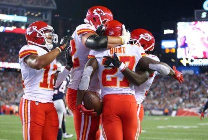 Chiefs frustram festa dos Patriots e vencem fora de casa na abertura da temporada da NFL - The Playoffs