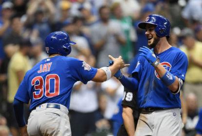 Com HR de Kris Bryant na 10ª entrada, Cubs vencem confronto direto contra Brewers - The Playoffs