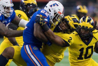 Após primeiro tempo conturbado, Michigan se arruma e bate Florida na semana 1 do College Football 2017 - The Playoffs