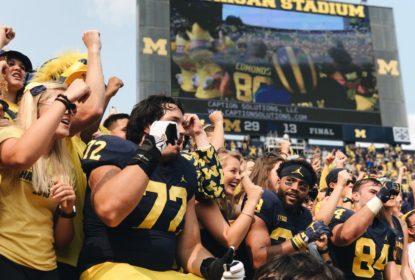 Michigan Wolverines venceu os Air Force Falcons neste sábado (16)