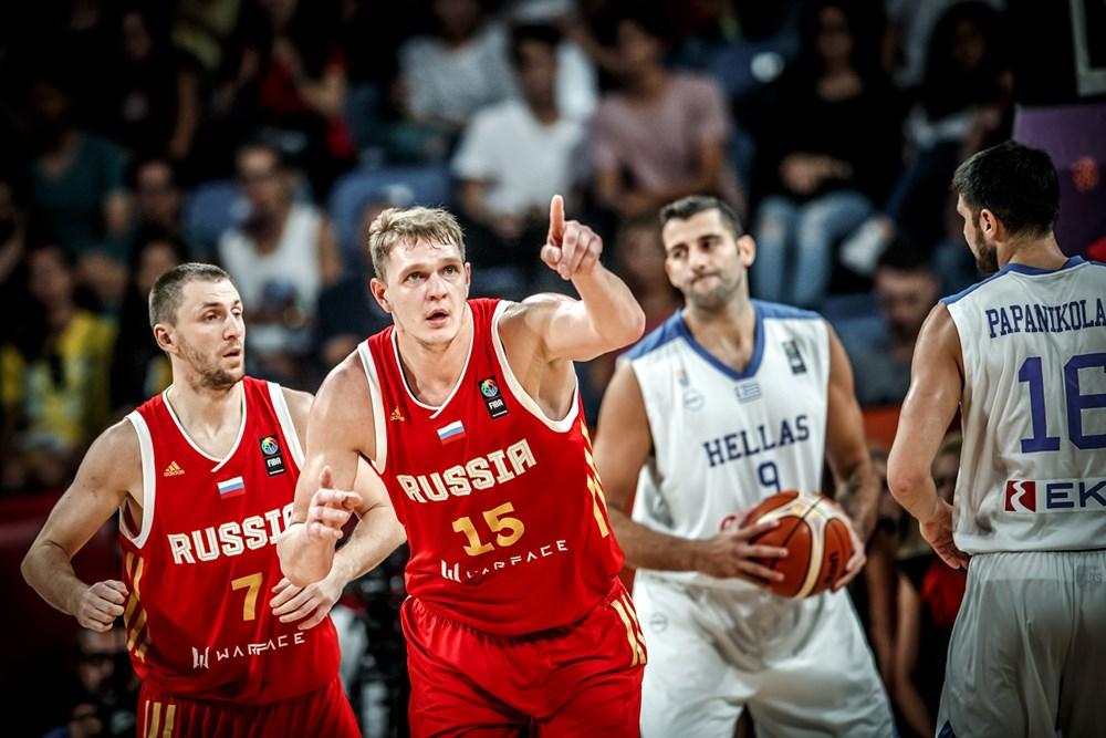 Rússia de Timofey Mozgov avança no Eurobasket 2017