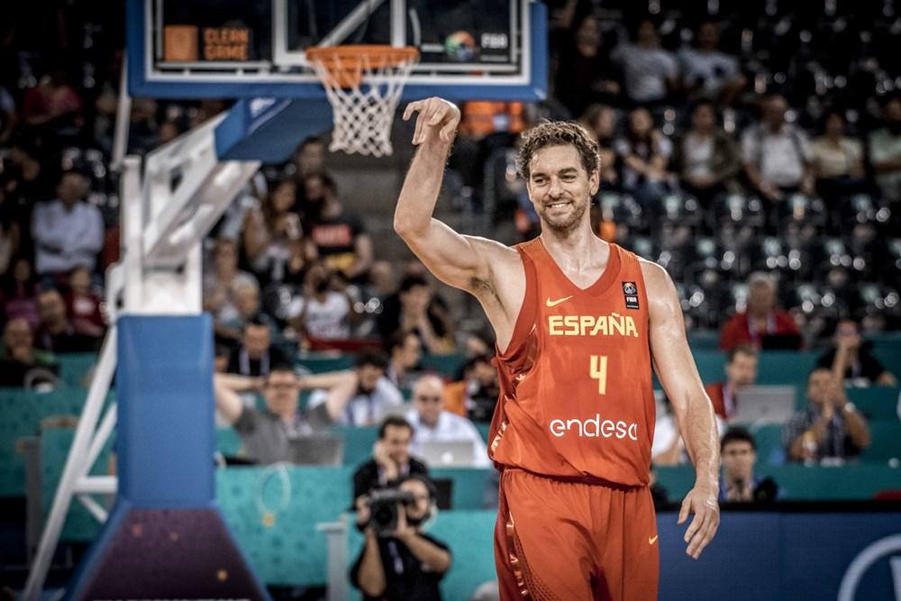 Pau Gasol bate recorde no EuroBasket