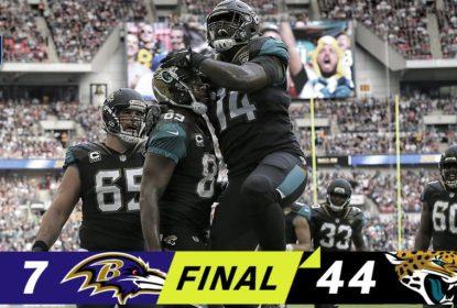 Jacksonville Jaguars atropela Baltimore Ravens em Londres - The Playoffs