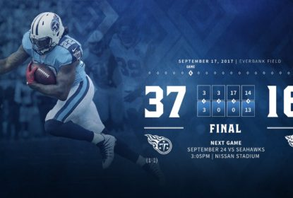 Titans derrotam Jaguars com grande atuação no segundo tempo - The Playoffs
