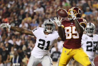 Redskins mostram força e derrotam Raiders com tranquilidade - The Playoffs