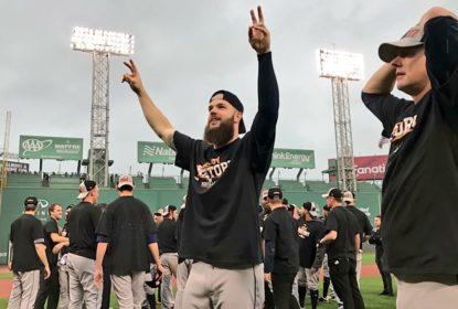 Astros aguentam pressão, viram sobre Boston Red Sox e garantem vaga na ALCS - The Playoffs