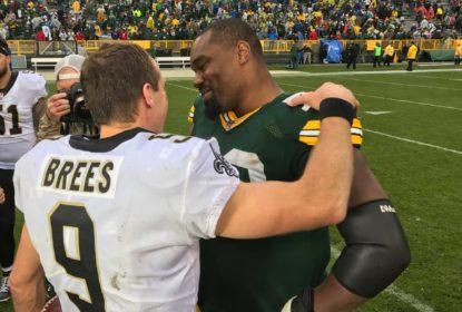 Brees prevalece sobre Hundley e Saints batem Packers - The Playoffs