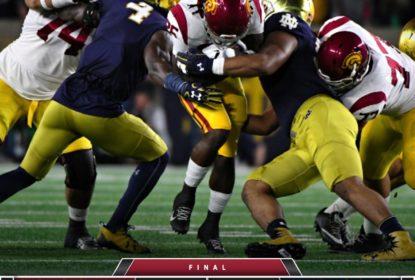 Com performance dominante, Notre Dame supera USC pela NCAA - The Playoffs