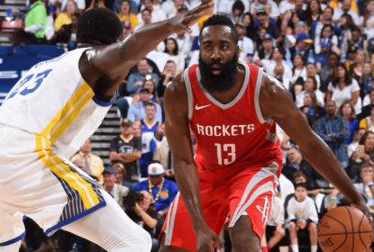 Houston Rockets vence o Golden State Warriors e estraga cerimônia dos anéis em Oakland - The Playoffs