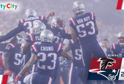 Na reedição do Super Bowl LI, Patriots batem Falcons no Sunday Night Football - The Playoffs