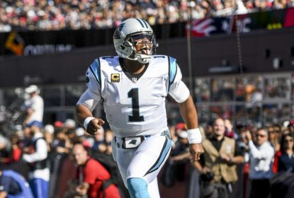 Cam Newton brilha e Panthers surpreendem Patriots