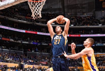 Utah Jazz encerra a pré-temporada de forma invicta com triunfo sobre o Los Angeles Lakers - The Playoffs