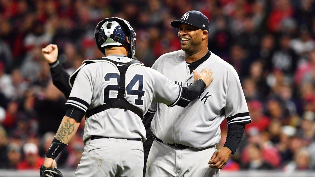 C.C. Sabathia vai bem como titular no jogo 5 entre Yankees e Indians