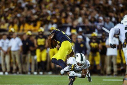 Michigan State joga melhor e quebra invencibilidade de Michigan - The Playoffs