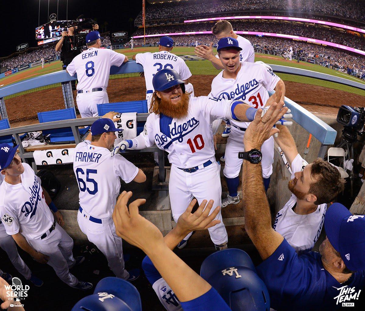 Justin Turner consegue HR de duas corridas e Dodgers vencem Astros