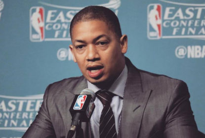 Tyronn Lue está pronto para treinar o Cleveland Cavaliers sem LeBron James - The Playoffs