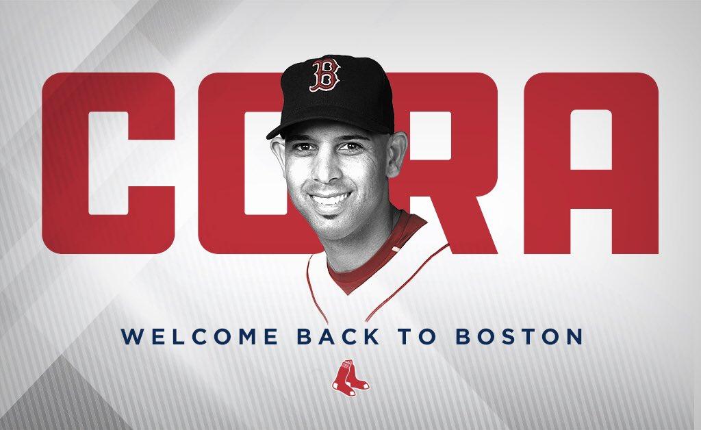 Na World Series com os Astros, Alex Cora será manager dos Red Sox a partir de 2018 - The Playoffs