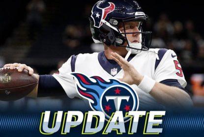 Tennessee Titans garantem segurança na posição e fecham contrato de um ano com quarterback Brandon Weeden