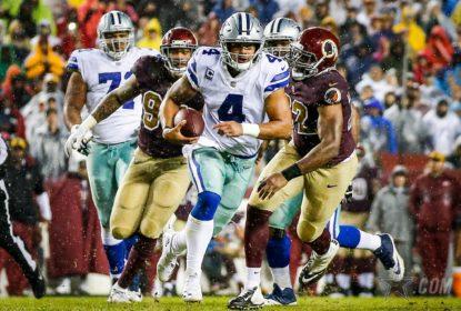 Dallas Cowboys vence Washington Redskins com pick-six no final - The Playoffs