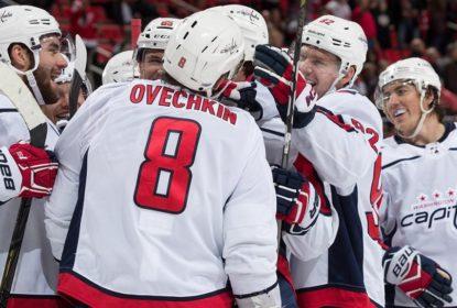 No overtime, Capitals vencem Red Wings fora de casa - The Playoffs
