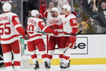 Em noite brilhante de Zetterberg, Red Wings vencem Knights - The Playoffs