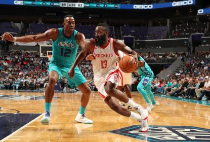 Harden anota triplo-duplo e Rockets passam fácil pelo Hornets - The Playoffs