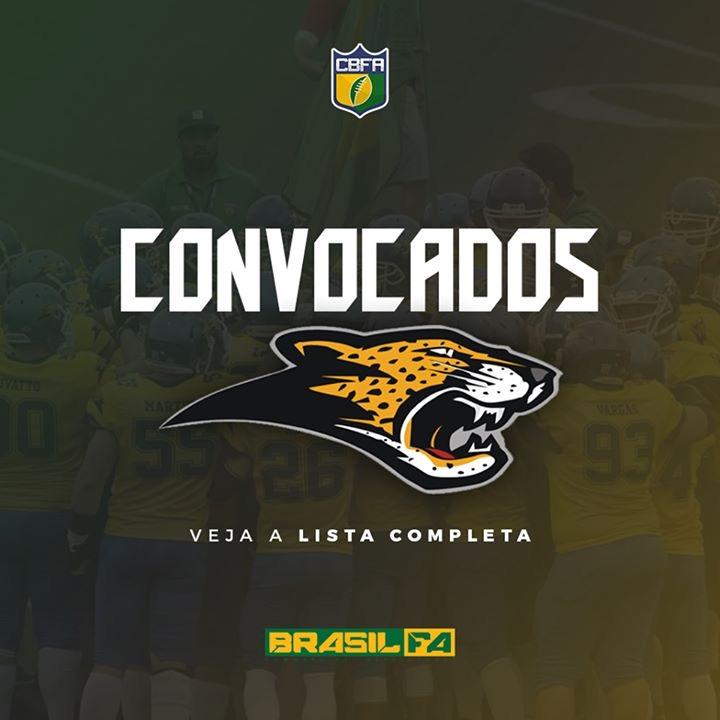 CBFA anuncia lista de convocados do Brasil Onças para amistoso 2edd9f56fe0aa