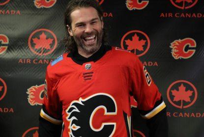 Jaromir Jagr é colocado na lista de lesionados do Calgary Flames - The Playoffs