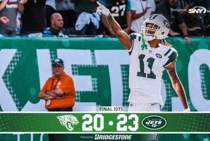 Jets derrotam os Jaguars na prorrogação - The Playoffs
