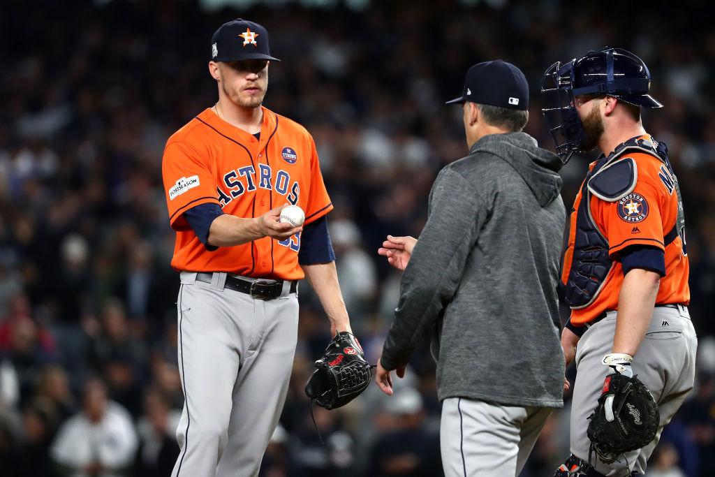 Ken Giles perde posição no Houston Astros