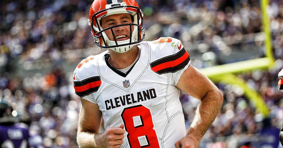 Kevin Hogan será o titular do Cleveland Browns na semana 6