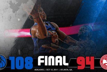Dennis Smith Jr. sai com joelho torcido, mas Mavericks vencem Hawks - The Playoffs