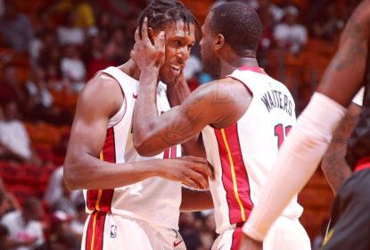 Heat vence Hawks na estreia de ambos na pré-temporada da NBA - The Playoffs