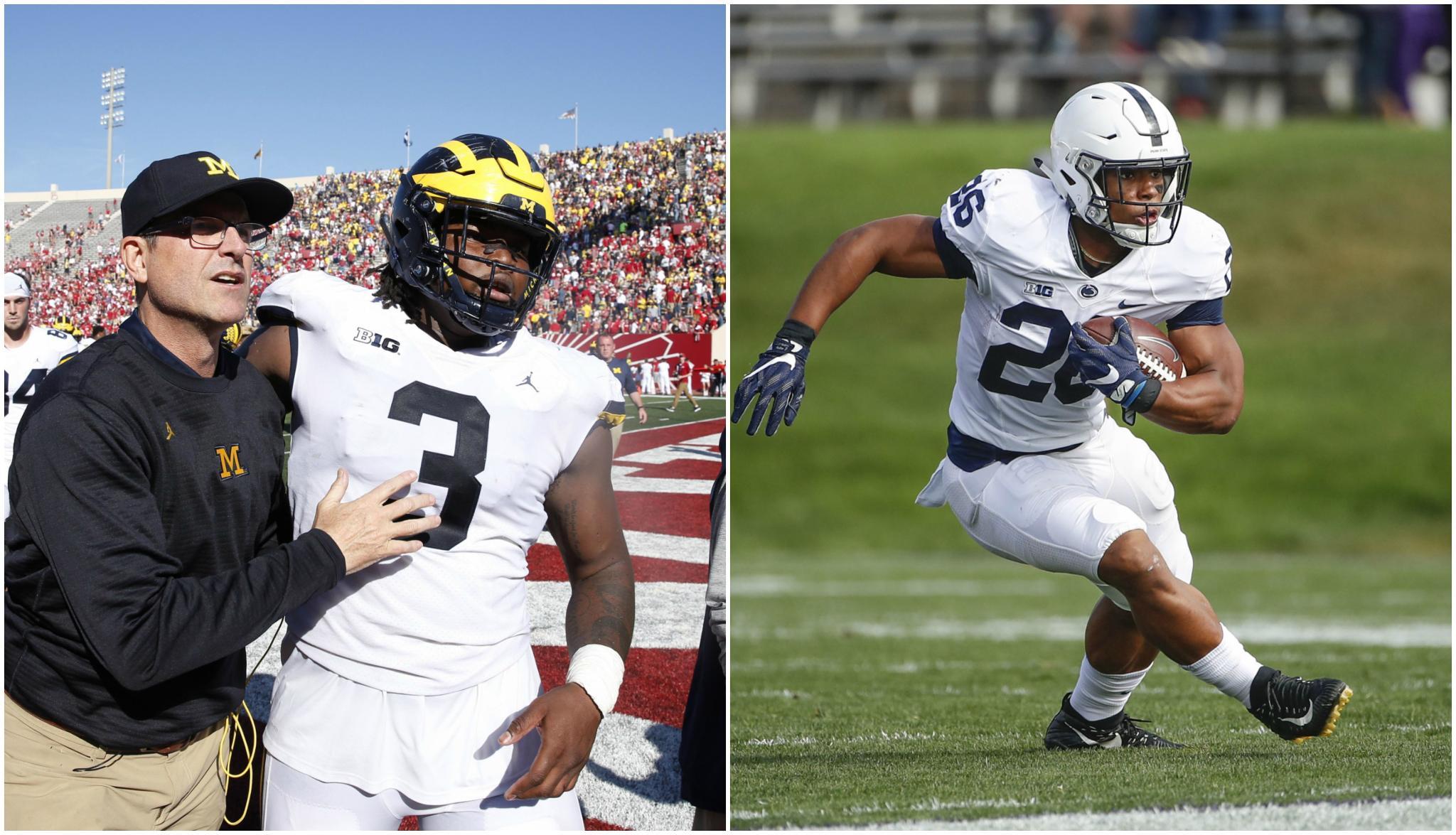 Penn State tenta evitar repetir 2016 contra Michigan na semana 8 do college football