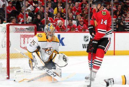 Pekka Rinne brilha em vitória dos Predators contra Blackhawks - The Playoffs