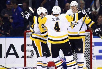 De virada, Pittsburgh Penguins vence New York Rangers - The Playoffs