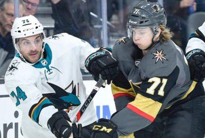 Sharks vencem Golden Knights no último dia da pré-temporada - The Playoffs