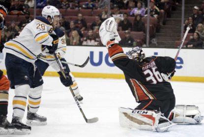 Fora de casa, Sabres vencem a primeira na temporada da NHL - The Playoffs
