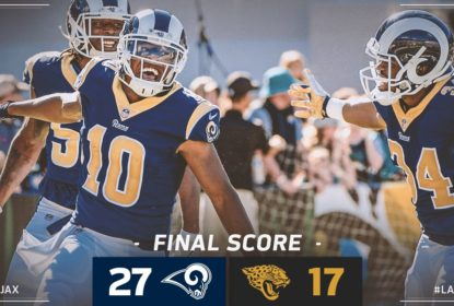 Com boa atuação dos special teams, Rams batem Jaguars - The Playoffs