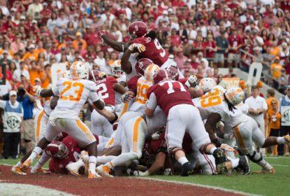 Alabama despacha Tennessee e alcança oitava vitória consecutiva - The Playoffs