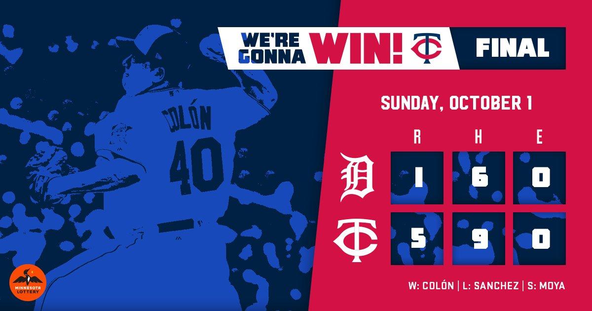 Em possível último jogo de Bartolo Colón, Twins superam Tigers