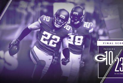 Minnesota Vikings aproveita lesão de Rodgers e vence rival Green Bay Packers - The Playoffs