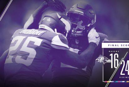 Minnesota Vikings vence Baltimore Ravens em jogo marcado por recordes de FGs - The Playoffs
