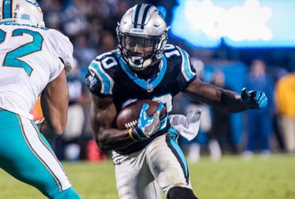 Curtis Samuel, wide receiver dos Panthers, está fora da temporada - The Playoffs